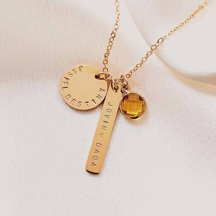 Bien Charm Necklace