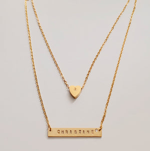 Dauphine Bar Necklace