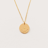 Lia Disc Necklace