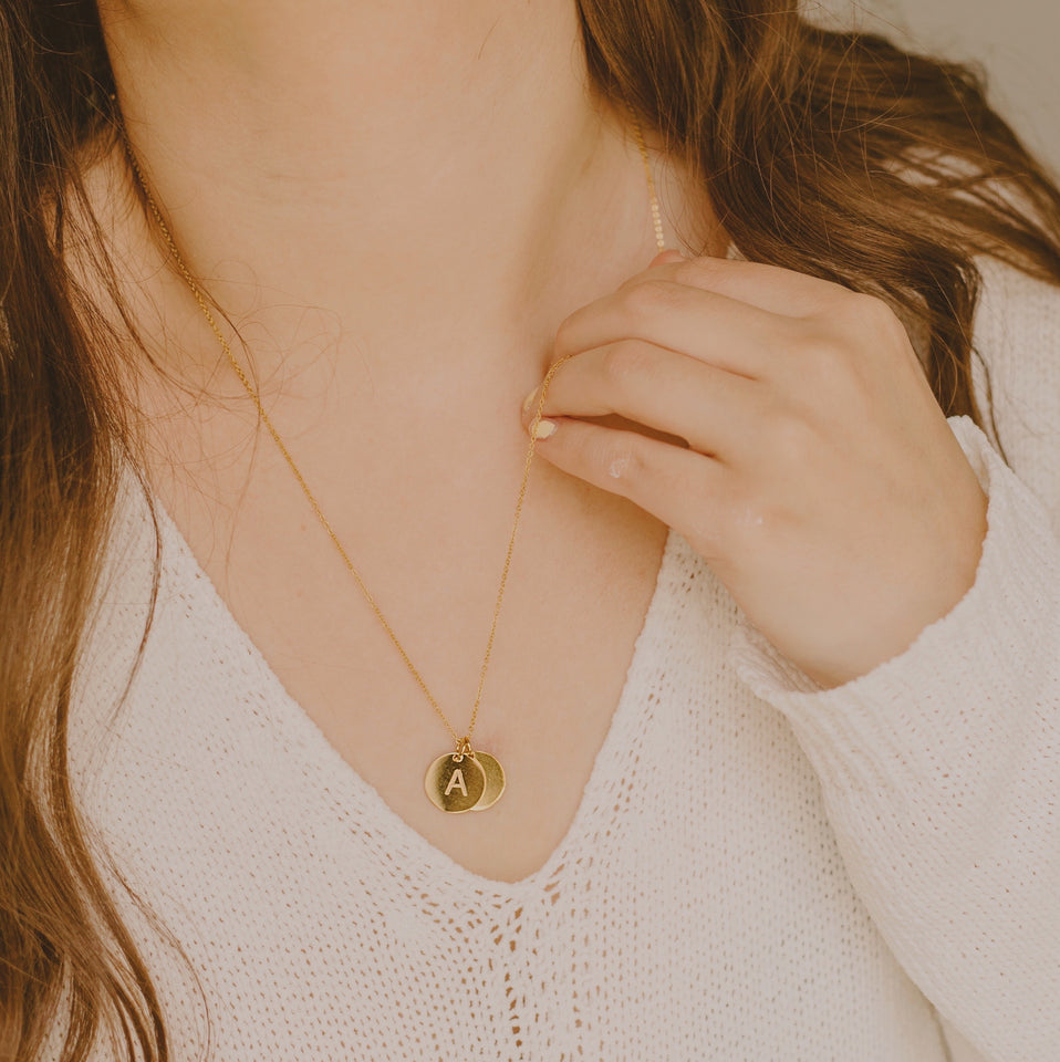 Dovetail 2.0 Coin Necklace