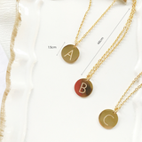 Idylle Initial Gold-Tone Necklace