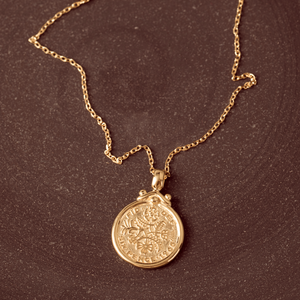 The Queen Elizabeth Vermeil Necklace