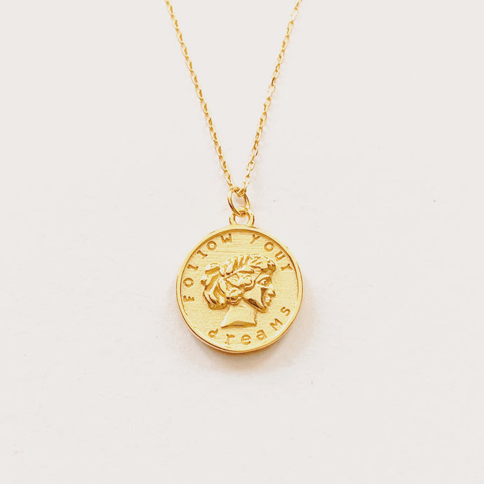 Jeune - Follow Your Dreams Vermeil Necklace