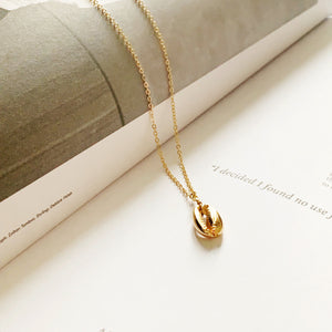 Isla Cowrie Gold Shell Necklace