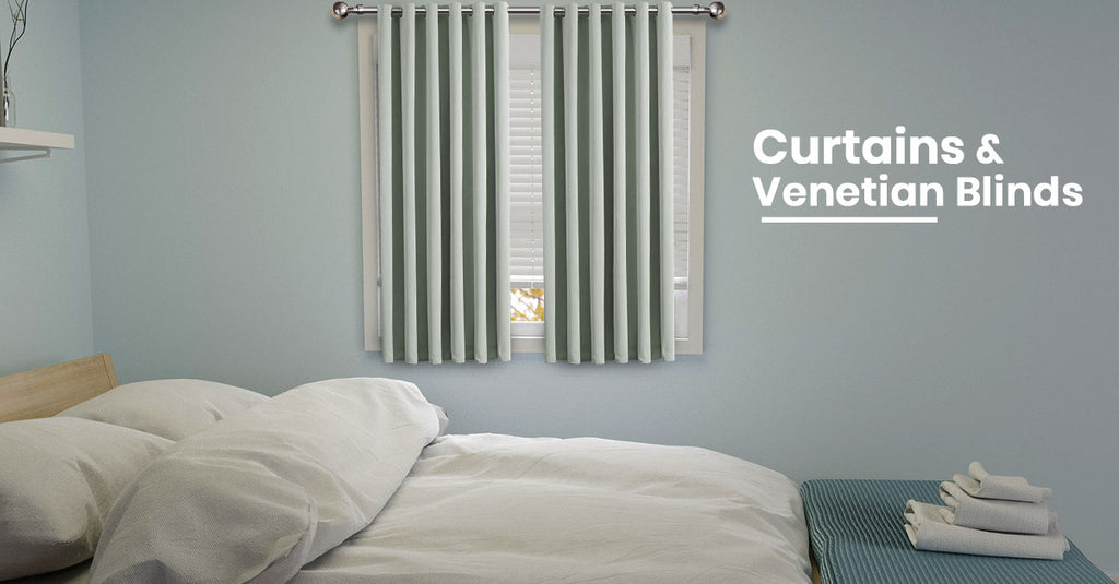 Curtains & Venetian Blinds