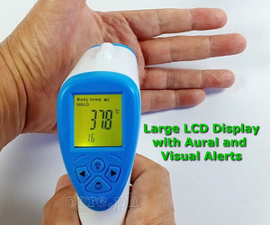 BO HUI T-168 (Non-Contact Infrared Thermometer with Fever Alert Function)