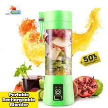 Load image into Gallery viewer, USB PORTABLE RECHARGEABLE BLENDER