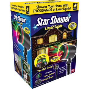 Star Shower Motion Laser Lights