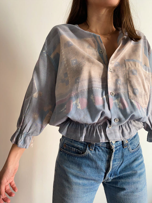 Camicia Gilbi watercolor