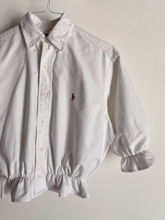 Camicia Gilbi bianca di Ralph Lauren con colletto