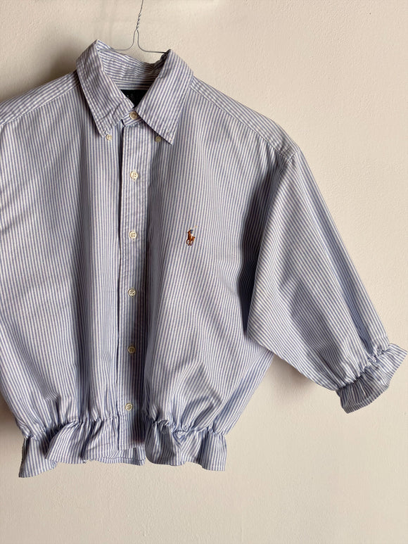 Camicia Gilbi a righine di Ralph Lauren con colletto