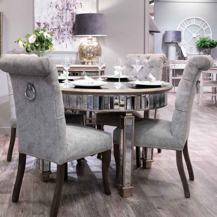 The Venice Collection Grand Mirrored Dining Table
