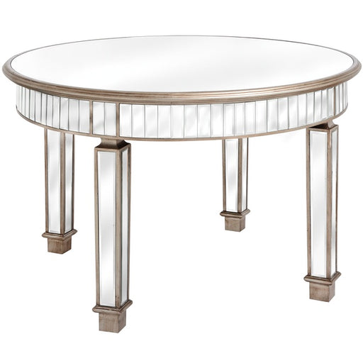 The Belfry Collection Grand Mirrored Dining Table - Mayflower Furniture