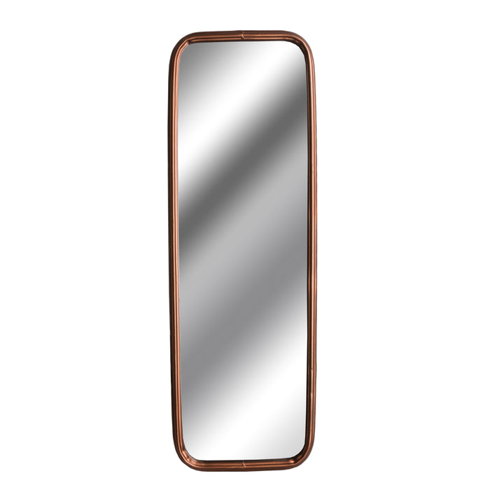 Industrial Rectangular Copper Finish Mirror - Mayflower Furniture