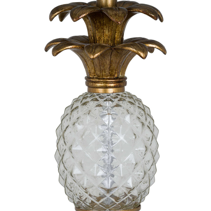 Pineapple Glass Table Lamp