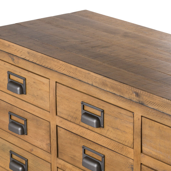 The Draftsman Collection 20 Drawer Merchant Chest - Mayflower Furniture