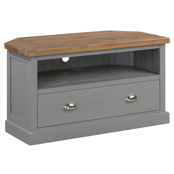 The Byland Collection Corner TV Unit - Mayflower Furniture