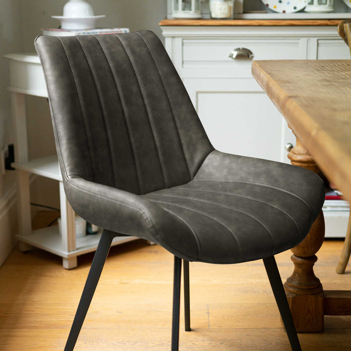 Malmo Grey Dining Chair - Mayflower Furniture