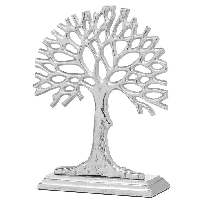 Ashley Silver Cast Tree Of Life Ornament