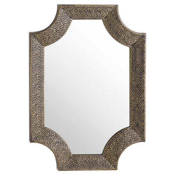 Antibes Antique Bronze Detailed Wall Mirror