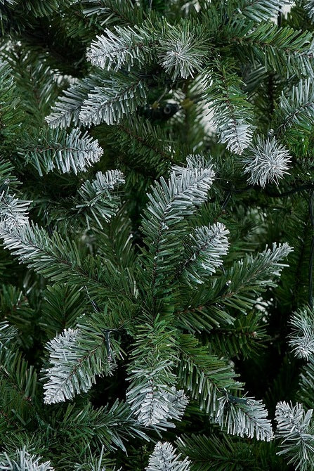 5ft Frosted Pre-lit Multi LED Christmas Tree