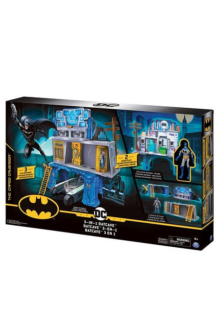 3-In-1 Batman Mission Play Set