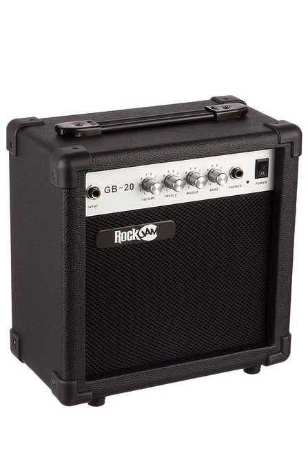 RockJam Bass Guitar SuperKit Black