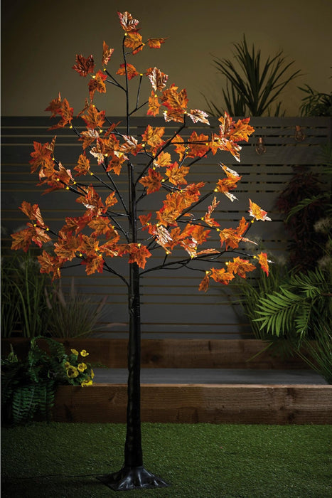 Solar Powered maple leaf tree - Mayflower Furniture