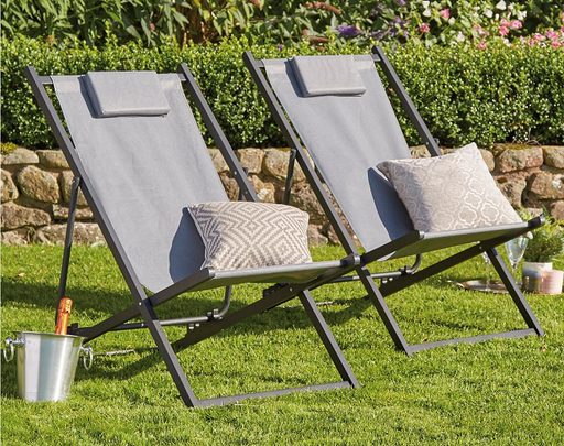 Pair Of Deck Chairs - Mayflower Furniture