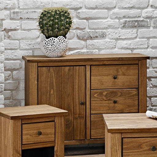 Havana Solid Pine Small Sideboard - Mayflower Furniture