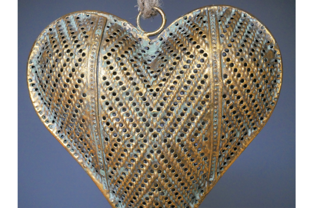 Heart Decoration Gold