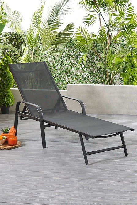 Glendale Textilene Reclining Lounger - Mayflower Furniture