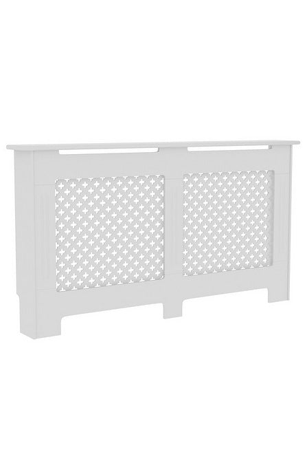 Oxford Radiator Cover - Large White