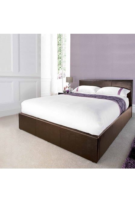 Prado Double Lift Storage Bed Brown - Mayflower Furniture