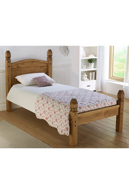 Corona Single Bed Low Foot End