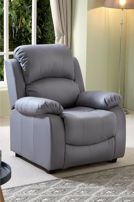 Banbury Faux Leather Armchair - Mayflower Furniture