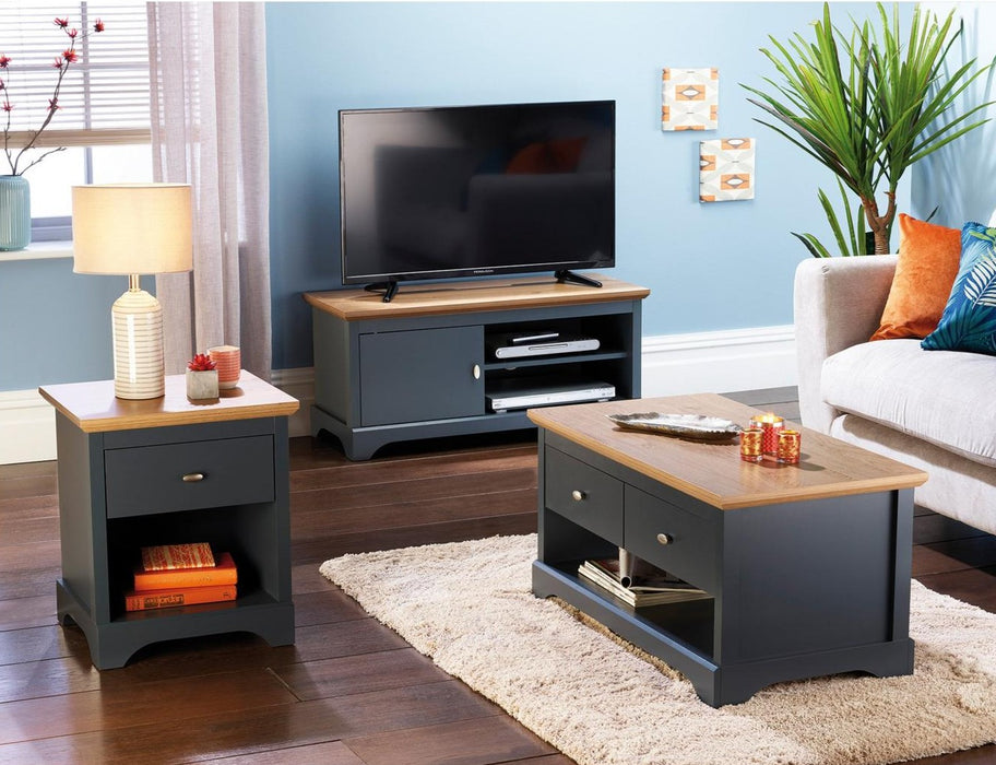 Three-Piece Camberley Furniture Set Charcoal