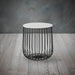 Enzo Small Cage Storage Side Table - Mayflower Furniture