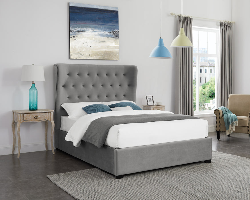 Belgravia Ottoman King Size Bed - Two Colours - Mayflower Furniture