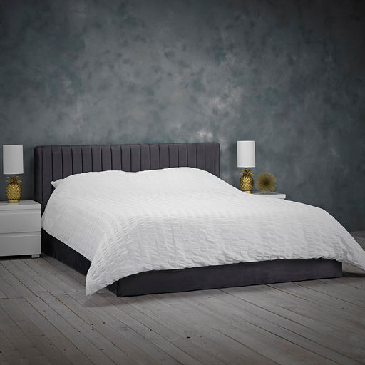 Berlin Small Double Ottoman Bed - Two Colours - Mayflower Furniture