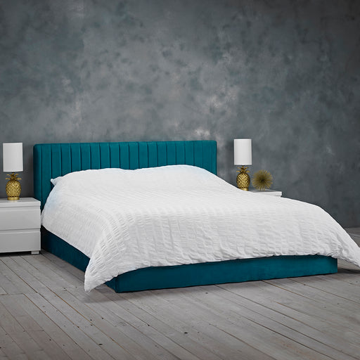 Berlin Double Ottoman Bed - Two Colours - Mayflower Furniture