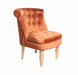 Charlotte Accent Chair Vibrant Velvet - Three colours - Mayflower Furniture
