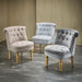 Charlotte Accent Chair Velvet Or Fabric - Three colours - Mayflower Furniture