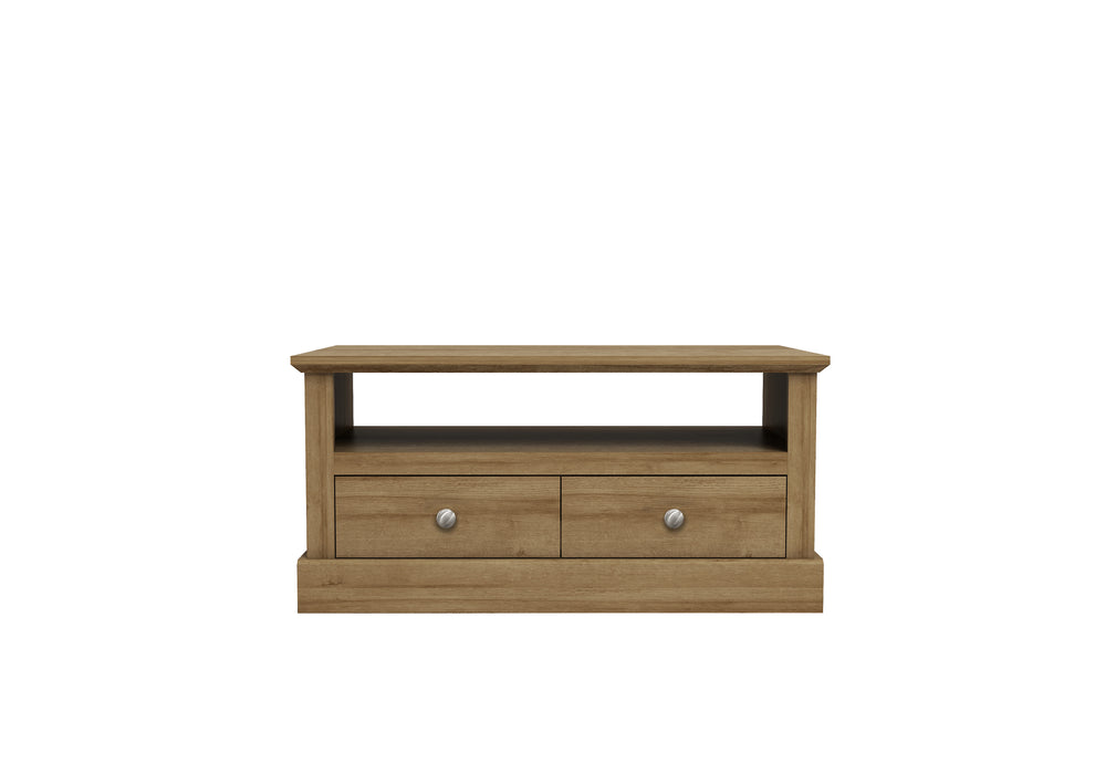Devon Coffee Table With Drawers - Three Colour - Mayflower Furniture