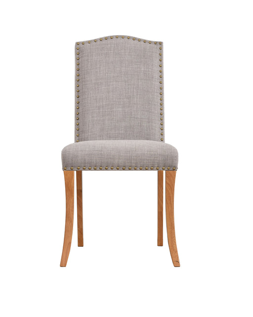 Evesham Pair Of Dining Chairs With Studs - Two Colours - Mayflower Furniture