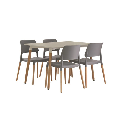 Fraser Wooden Dining Table - Three Colours - Mayflower Furniture