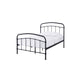 Halston Metal Single Bed - Black Or Copper - Mayflower Furniture