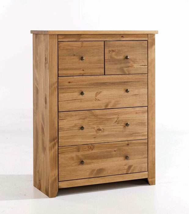 Varadero Solid Pine Chest Of Drawers - Mayflower Furniture