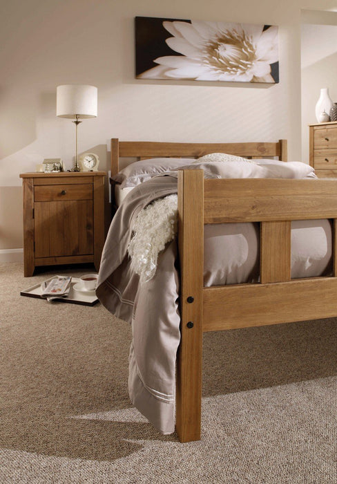 Varadero Solid Pine - King Size Bed - Mayflower Furniture
