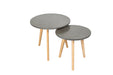 Hex Concrete Effect Nest of Tables - Mayflower Furniture